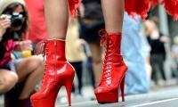 Tacchi a spillo Gay Pride di Torino