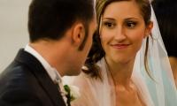 Stupore e felicità Anna guarda Davide