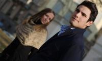 Dmitrij e Giulia sguardi che si perdono