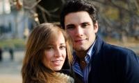 Dmitrij e Giulia a Torino nel parco Cavour