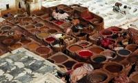 L'inferno delle concerie di Fes, Marocco