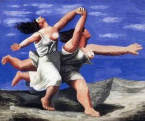 due_donne_che_corrono_sulla_spiaggia_di_pablo_picasso